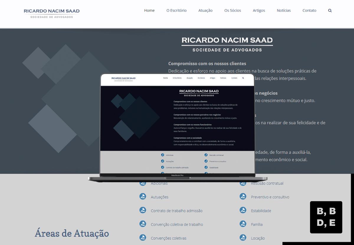 Ricardo Nacim Saad Sociedade de Advogados - BBDE Comunicação | Marketing Jurídico